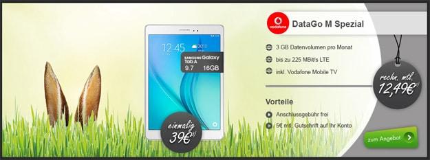 Samsung Galaxy Tab A (9.7) mit Vodafone DataGo M