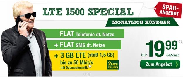 Smartmobil LTE 1500 Special 19,99 €