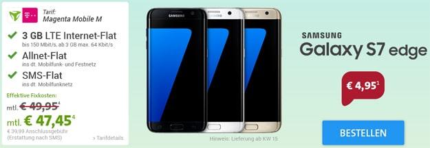 Telekom Magenta Mobile M mit Samsung Galaxy S7