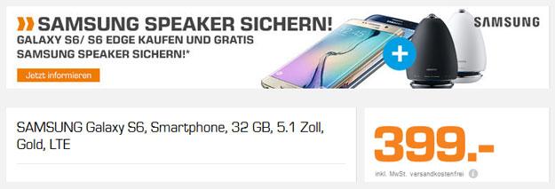 Samsung Galaxy S6 + Speaker
