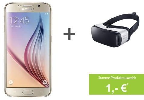Samsung Galaxy S6 + Vodafone Smart Young
