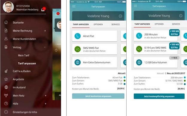 Vodafone Swipe-IT Funktion