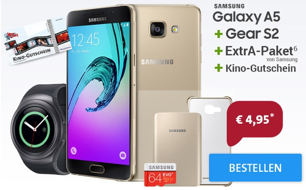 Otelo Mega Deal mit Samsung Galaxy A5
