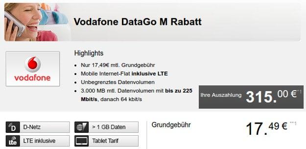 Vodafone Data Go M