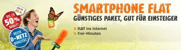 klarmobil Smartphone Flat im Telekom-Netz