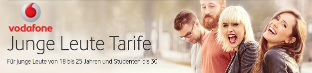 Vodafone Young Tarife