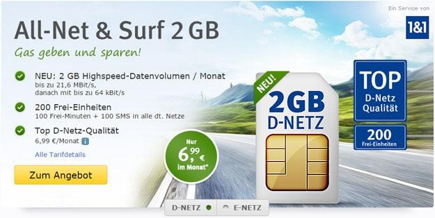 1&1 All-Net & Surf