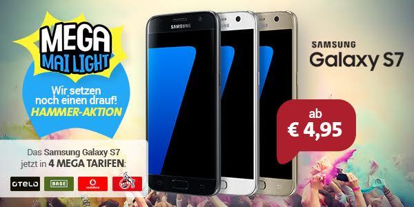 Samsung Galaxy S7 für 4,95 €