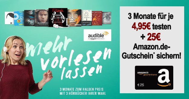 Audible Bonus-Deal
