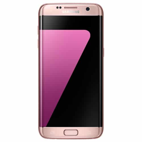 Samsung Galaxy S7 Edge pink-gold