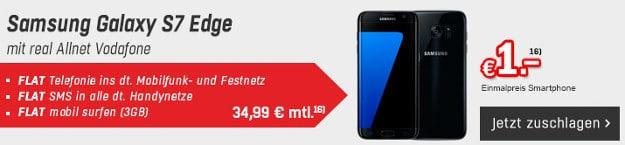 Samsung Galaxy S7 Edge + real Allnet Vodafone (md)