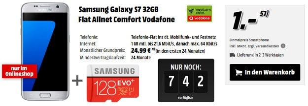 Samsung Galaxy S7 + Flat Allnet Comfort Vodafone (md)