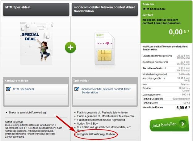 Telekom Allnet-Flat - 4,99 EUR