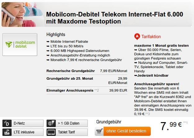 Telekom Internet-Flat 6.000 (md)