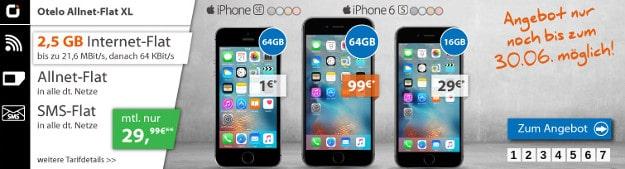 iPhone SE + otelo Allnet-Flat XL