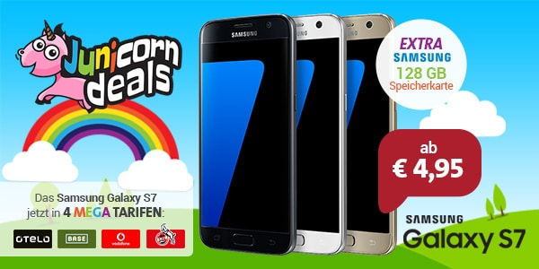 Junicorn deal mit Samsung Galaxy S7