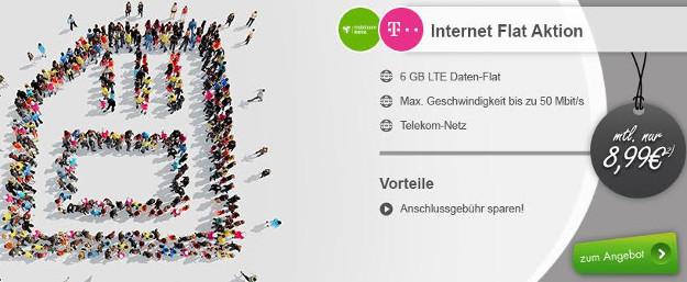 Internet Flat 6000