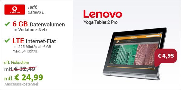 Yoga Tablet 2 Pro LTE + Data Go L