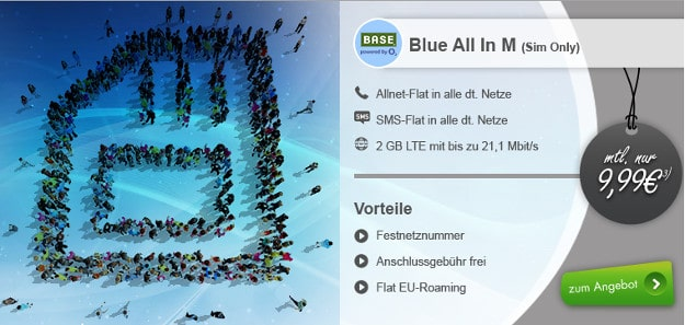 Base Blue All-in M modeo