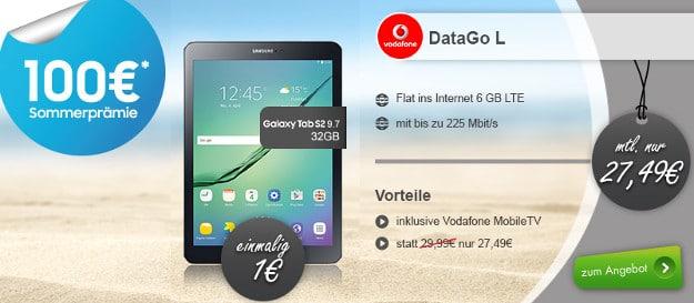 DataGo L + Samsung Galaxy Tab S2