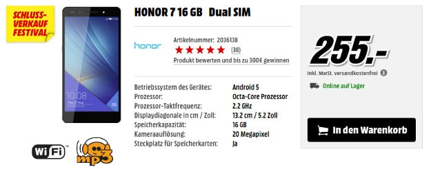 Honor 7 Media Markt