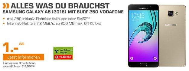 Samsung Galaxy A5 (2016) + Vodafone Surf 250