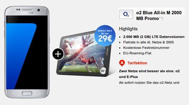 Samsung Galaxy S7 + o2 Blue All-in M