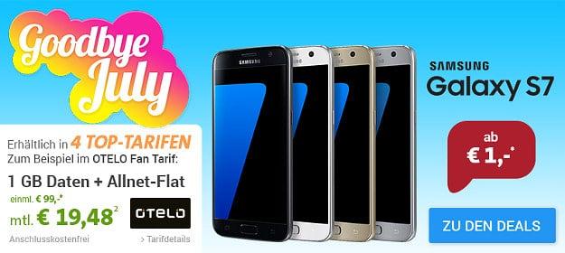 Samsung Galaxy S7 + otelo Fan-Tarif