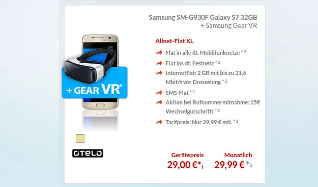 Samsung Galaxy S7 + otelo XL