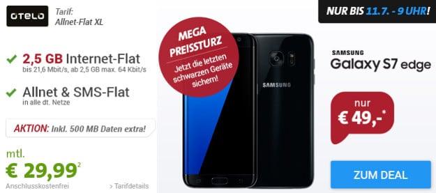Samsung Galaxy S7 Edge + otelo Allnet-Flat XL