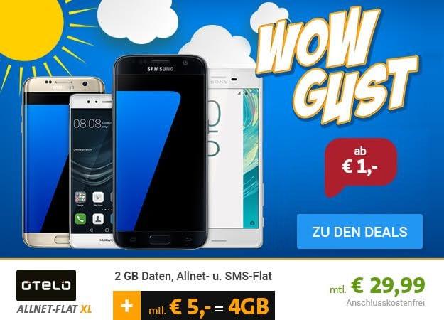 Sparhandy wowgust Samsung Galaxy S7 + otelo XL