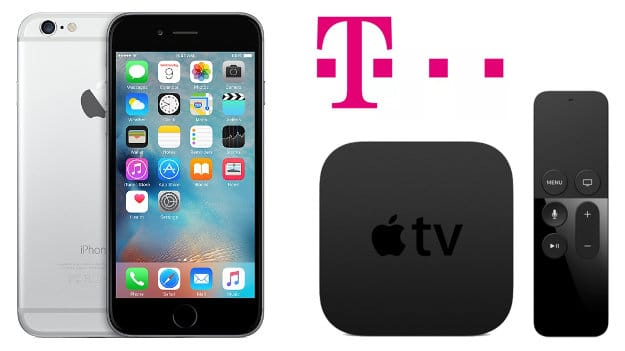 iPhone 6s + AppleTV + Telekom