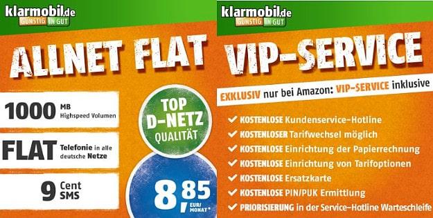 klarmobil Allnet-Flat Amazon