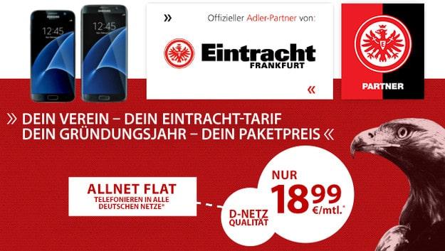 Eintracht-Tarif + Samsung Galaxy S7, S7 Edge