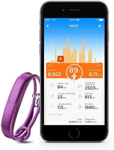 Jawbone UP2 mit App