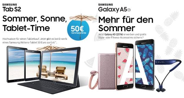 Lilien-Tarif + Samsung Galaxy A5 + Tab S2