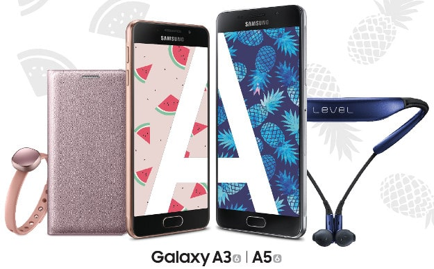Samsung A3 A5 Sommer Aktion