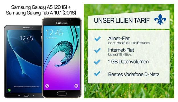 Samsung Galaxy A5 + Lilien-Tarif 1 GB