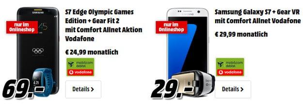 Samsung Galaxy S7 Edge + Comfort Allnet Vodafone (md)