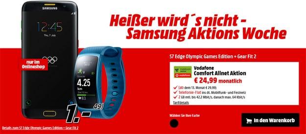 Samsung Galaxy S7 Edge Olymic Games - Vodafone Comfort Allnet