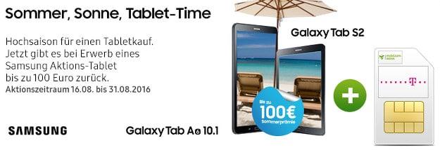 Samsung Galaxy Tab S2 + 3 GB-LTE-Flat Telekom-Netz