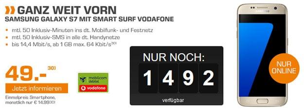 Samsung Galaxy S7 - Smart Surf Vodafone