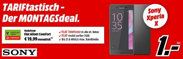 Sony Xperia X +Vodafone Flat Allnet Comfort (md)