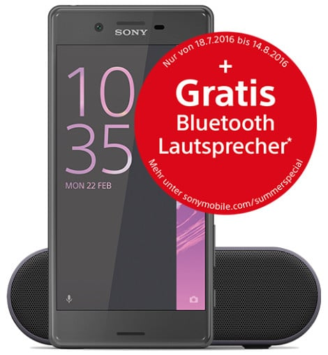 Sony Xperia X + otelo Allnet-Flat XL