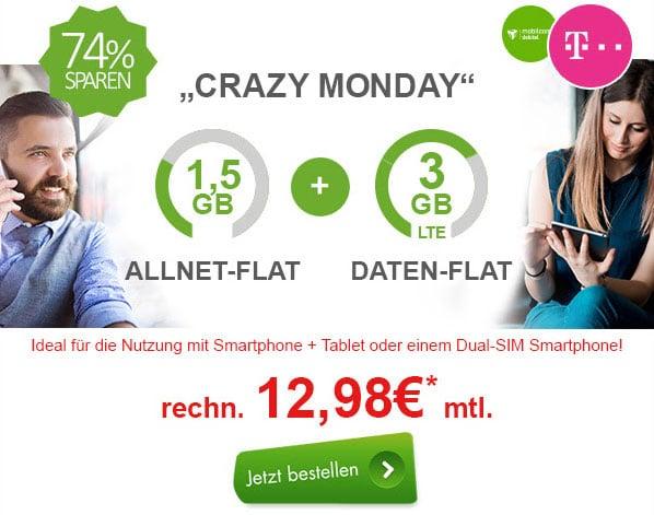 Telekom Allnet-Flat 4,5 GB LTE