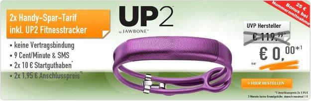 Up2 Fitnesstracker effektiv kostenlos