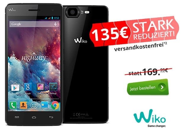 Wiko Highway Pure billiger
