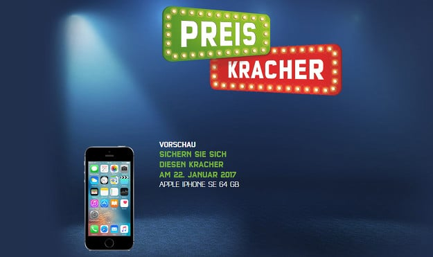 iPhone SE Preiskracher
