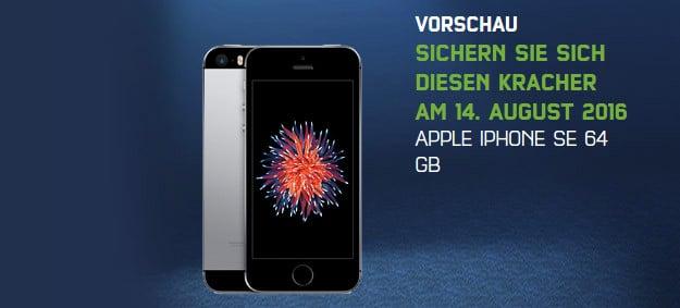 iPhone SE Sonntagskracher