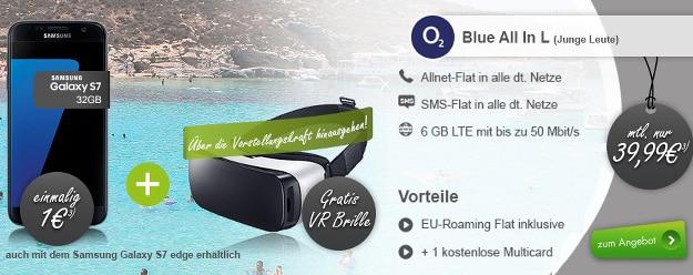 o2 Blue All-in L + Samsung Galaxy S7